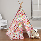 Pink Floral Teepee & Cushion  to Call Your Own SetA Savings of $19
