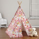 A Teepee & Cushion Set to Call Your Own (Floral)