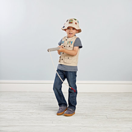 Fishing Dress Up Kids Costume - Reel Life Fishing Outfit