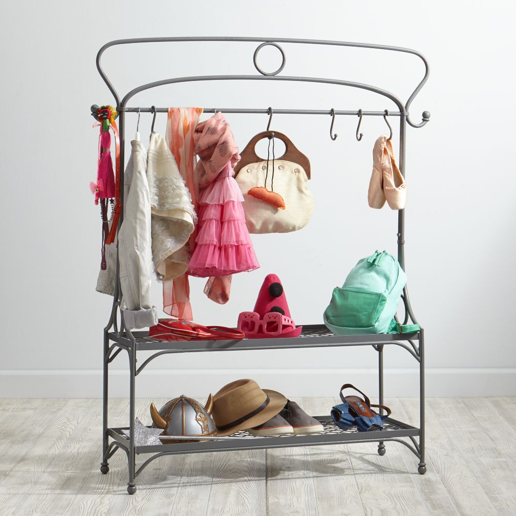 Dress (Up) for Success Wardrobe Rack