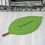 Welcome/Go Away Mat