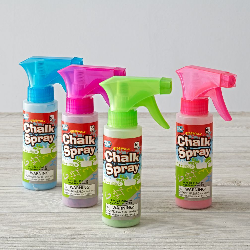 Sidewalk Chalk Spray (Assorted)