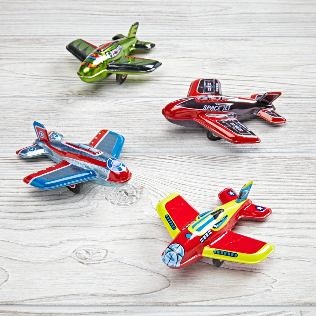Tin Plane (Assorted)