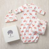 Kate Quinn Snuggle Set (Orange Giraffes)
