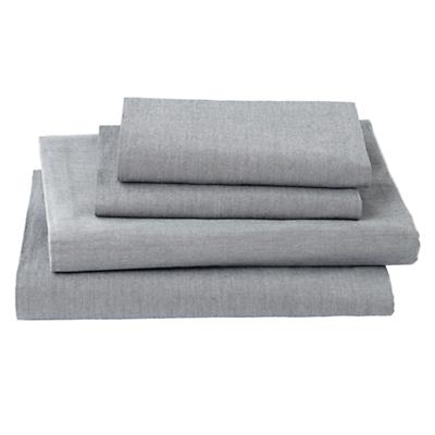My Grey Chambray Sheet Set