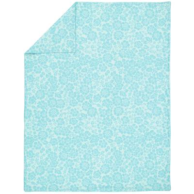 Dream Girl Full-Queen Duvet Cover (Aqua)