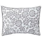 Grey Dream Girl Floral Sham