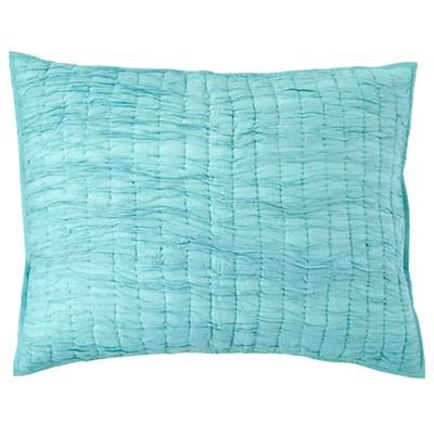 Dream Girl Quilted Sham (Aqua)