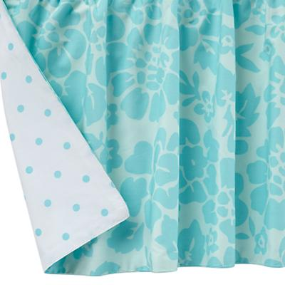 Dream Girl Crib Skirt (Aqua)