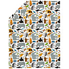 Twin Welcome Jungle Duvet Cover