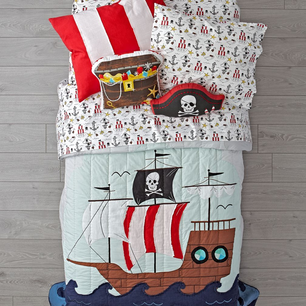 Pirate Bedding
