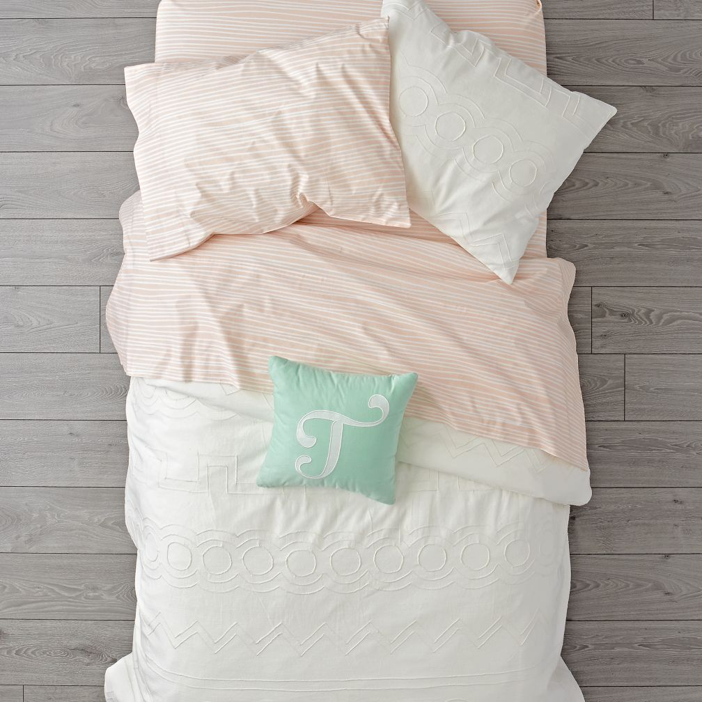 Simply Embroidered Duvet Cover