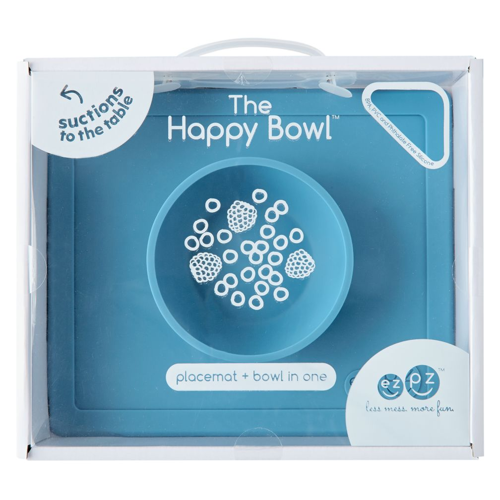 ezpz Happy Bowl (Blue)