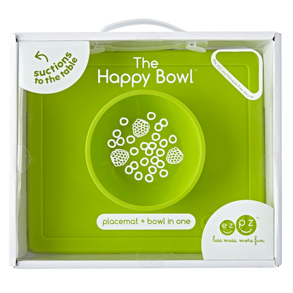 ezpz Happy Bowl (Lime)