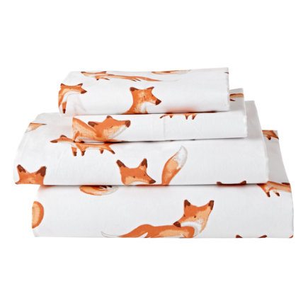 Organic Fox Sheet Set