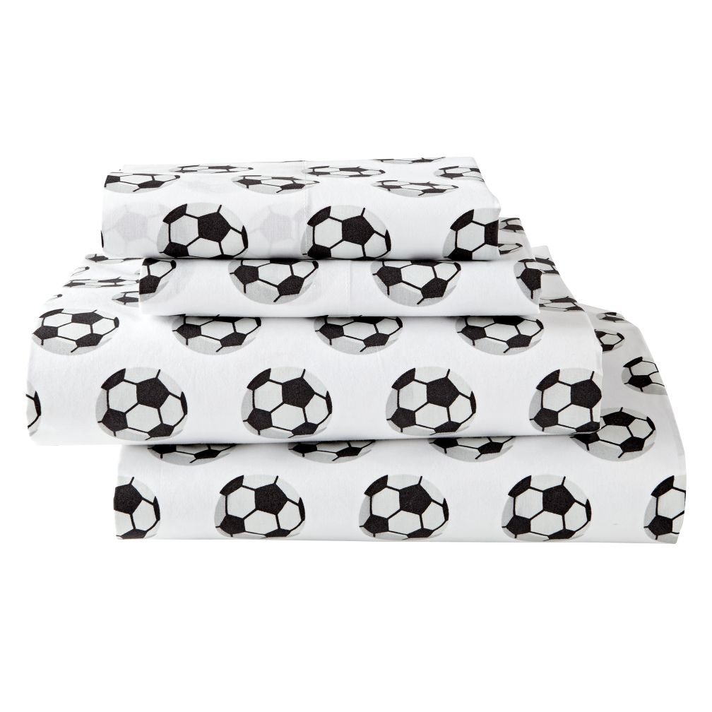 Organic Nod Soccer Sheet Set