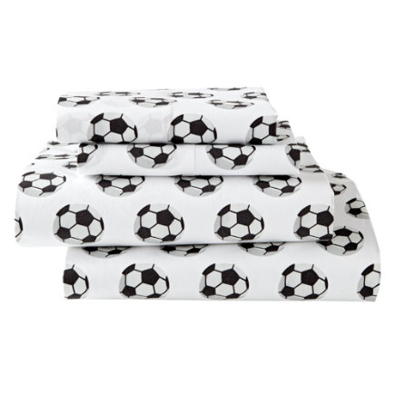 - Organic Nod Soccer Twin Sheet Set
