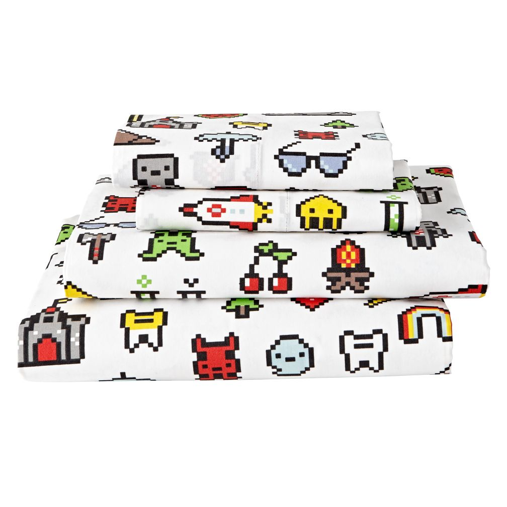 Organic Video Game Sheet Set