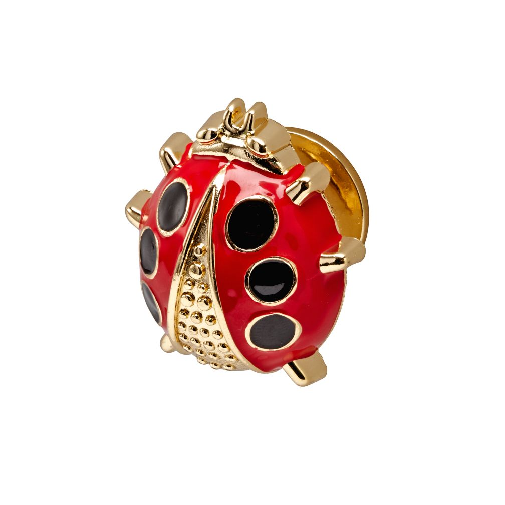 Hand Picked Lady Bug Knob