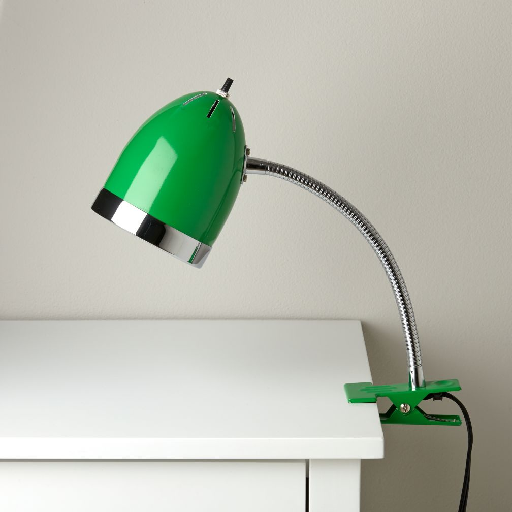 Now Clip it, Clip it Good Lamp (Green)