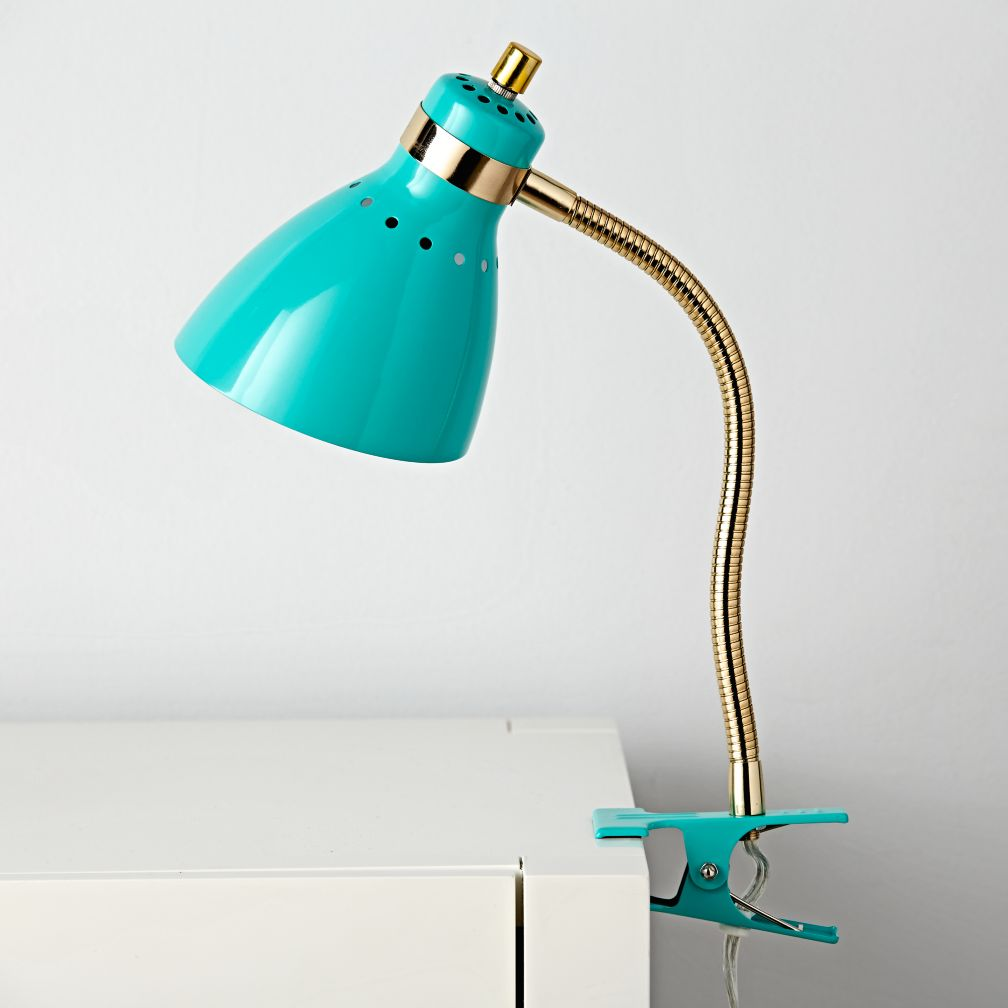 Good Grip Clip Lamp (Teal)