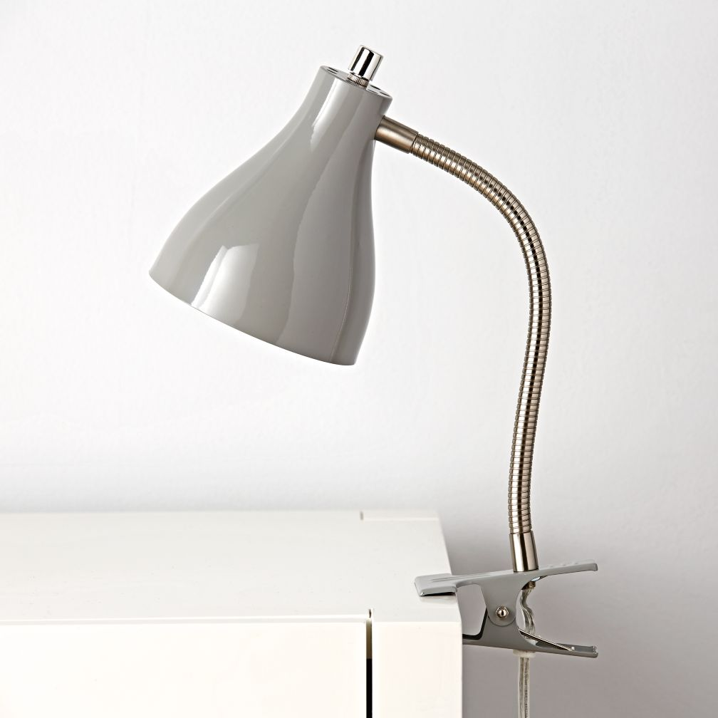 Hold On Clip Lamp (Grey)