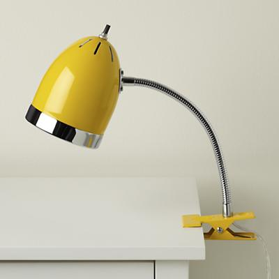 Clip it Lamp (Yellow)
