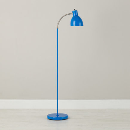 Adjustable Bright Idea Floor Lamp (Blue) - Blue Bright Idea Floor Lamp