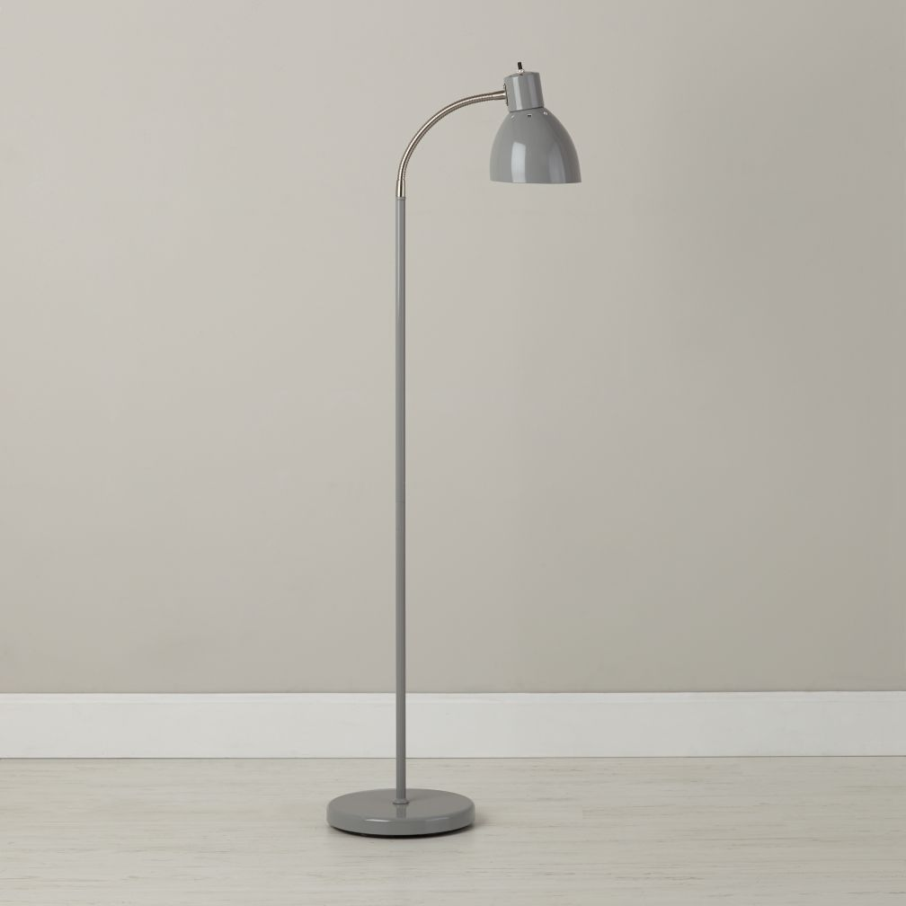Bright Idea Floor Lamp (Grey)