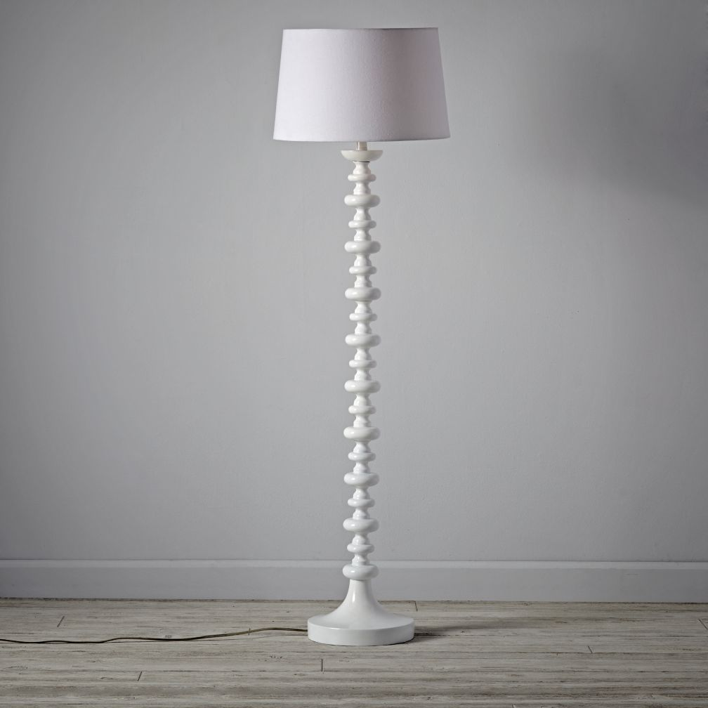 Jenny Lind Floor Lamp White The Land Of Nod