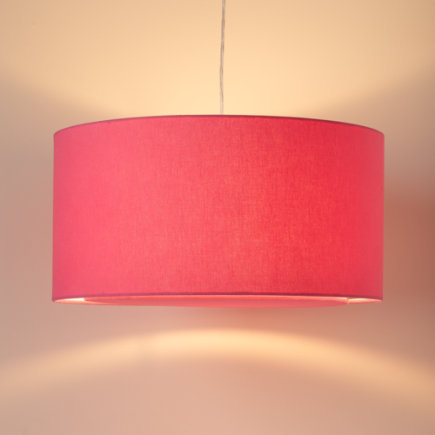 Hangin Around Pendant Lamp (Hot Pink) - Hot Pink Hangin Around Ceiling Lamp