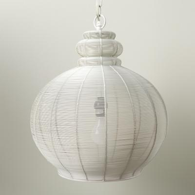 High Wire Pendant Lamp (White)