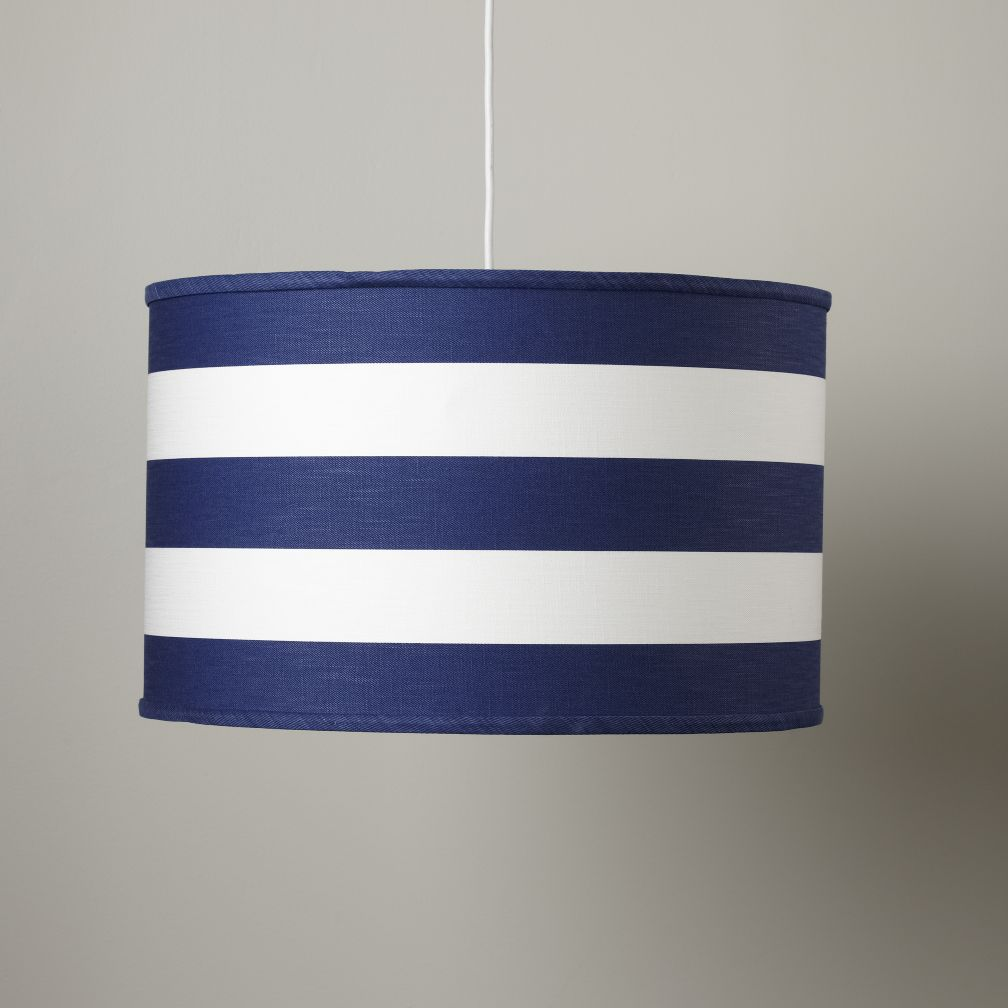 Blue Stripe Pendant