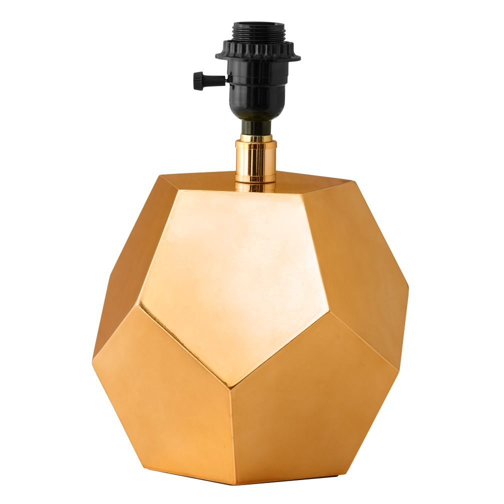 Between a Rock Table Lamp Base (Gold)