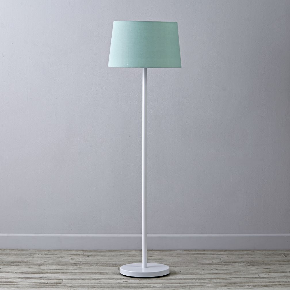 light years floor lamp shade mint more colors available. Black Bedroom Furniture Sets. Home Design Ideas