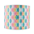 Rainbow Printed Table Lamp Shade.
