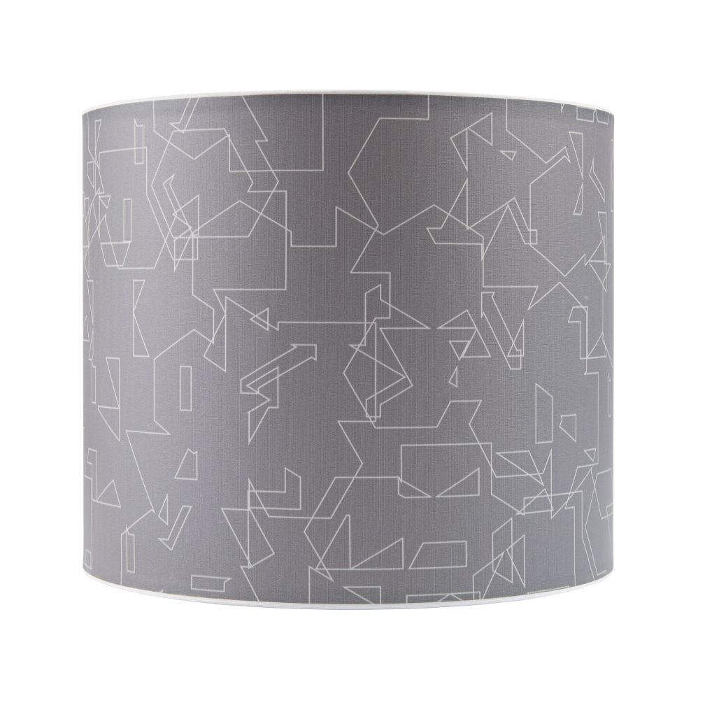 Printed Table Lamp Shade (Scribbles)