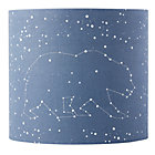 Blue Star Gazer Table Lamp Shade.