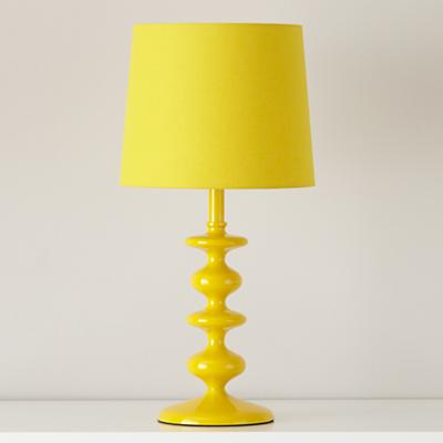 Checkmate Table Lamp Base (Yellow)