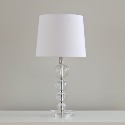 Clear Stacked Balls Table Lamp - Dew Drop Table Lamp Base
