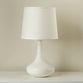 Kids' Floor Lamps: Kids White Floor Lamp with adjustable arm in ...