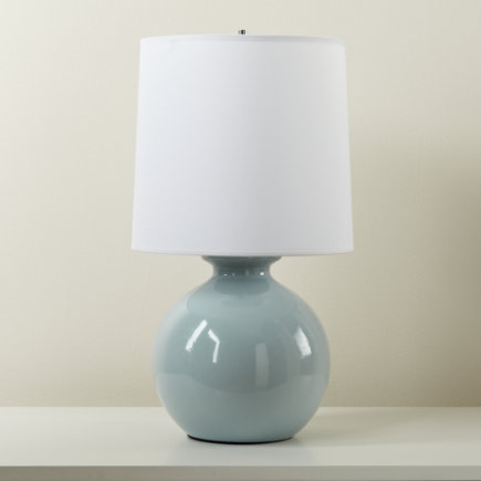 Kids Lighting: Kids Grey Gumball Table Lamps - Grey Gumball Table Lamp