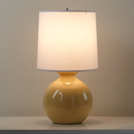 Kids Lighting: Kids Yellow Gumball Table Lamps - Yellow Gumball Table Lamp