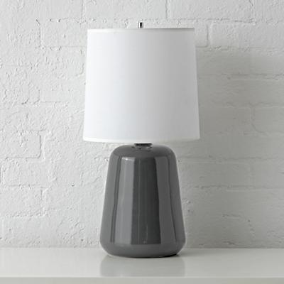 Gumdrop Grey Table Lamp