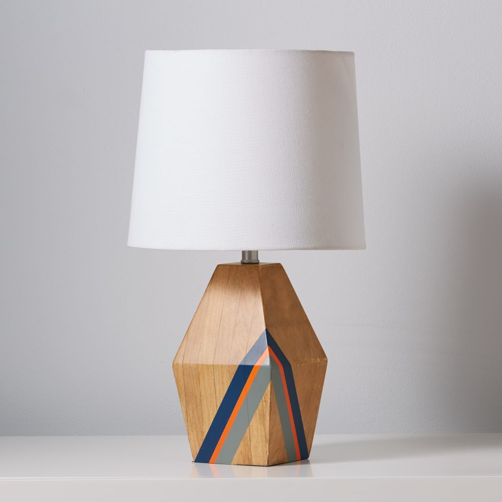 Natural Color Table Lamp Base (Blue)