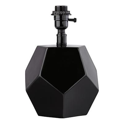 Between a Rock and a Table Lamp Base (Black)