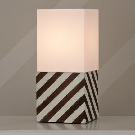 Modern Cube Table Lamp - Modern Cube Square Table Shade
