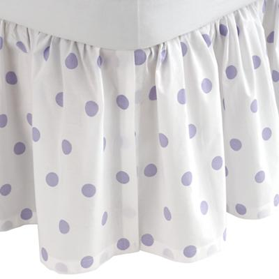 Queen Lavender Pastel Dots Skirt