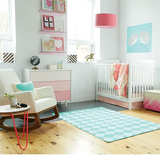 Candy Kisses Girls Nursery Ideas | The Land of Nod