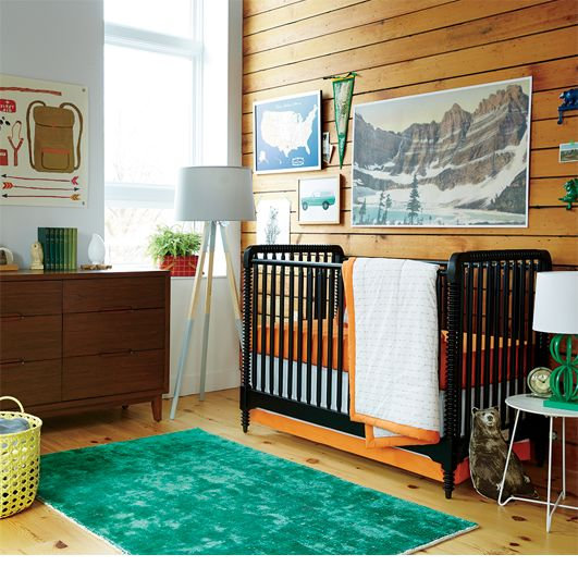 Baby Bear Boys Nursery Ideas | The Land of Nod